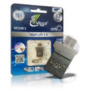 فلش مموری وایکو 32گیگ VICCO 130S 32GB