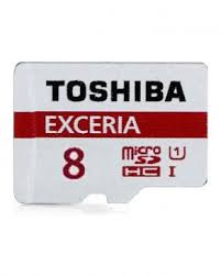 کارت حافظه microSDHC توشیبا مدل EXCERIA M301-EA کلاس ۱۰ استاندارد UHS-I U1 سرعت ۴۸MBps همراه با آداپتور SD ظرفیت ۸ گیگابایت