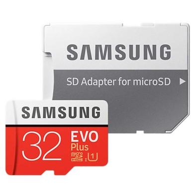 کارت حافظه microSDHC سامسونگ مدل Evo Plus  UHS-I U1  ظرفیت ۳۲گیگابایت