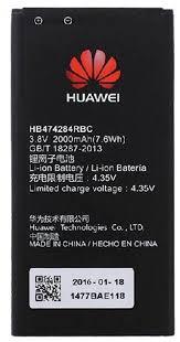 باتری موبایل هوآوی مدل HB4742A0RBC با ظرفیت ۲۳۰۰mAh مناسب برای گوشی موبایل هوآوی Honor 3C/G7730