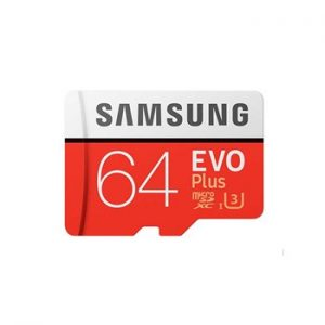 کارت حافظه microSDHC سامسونگ مدل Evo Plus  UHS-I U1  ظرفیت۶۴گیگابایت