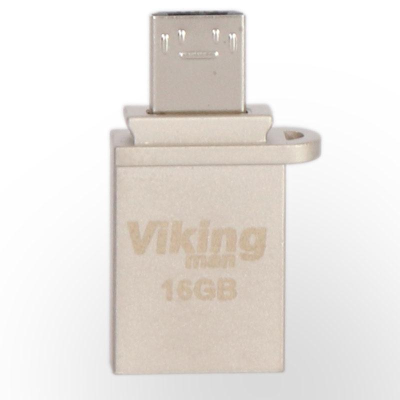 فلش مموری VIKING MAN USB 3.0 OTG 16GB