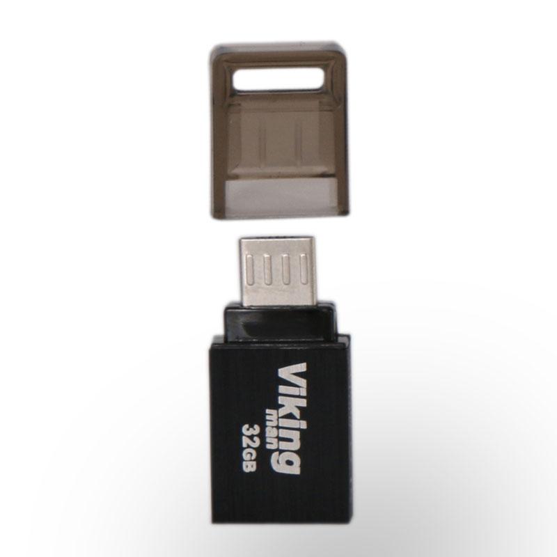 فلش مموری USB 2.0 OTG 32GB viking man