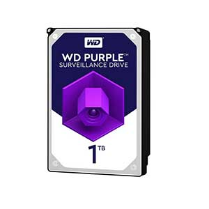هارددیسک اینترنال برند وسترن دیجیتال مدل Purple WD10PURZ با ظرفیت ۱ ترابایت