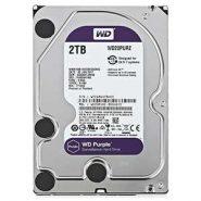 هارددیسک اینترنال برند وسترن دیجیتال مدل Purple WD20PURZ با ظرفیت 2 ترابایت