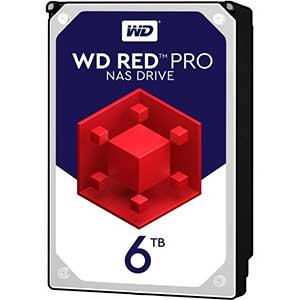 هارددیسک اینترنال برند وسترن دیجیتال مدل Red Pro WD6002FFWX با ظرفیت ۶ ترابایت