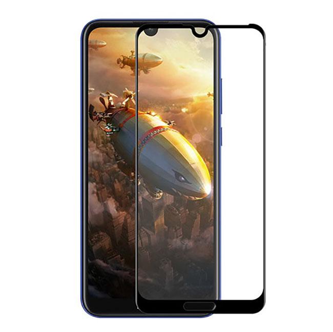 محافظ صفحه نمایش شیشه ای full cover honor 8A