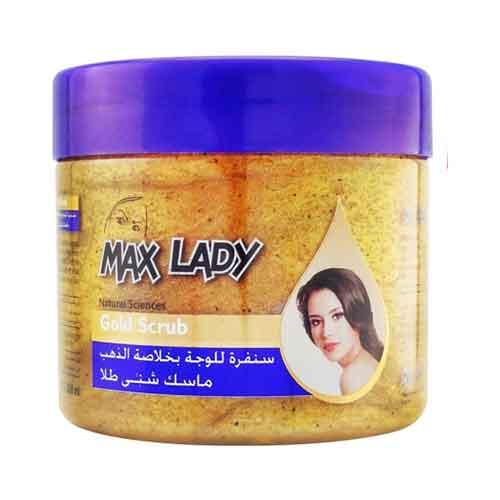 ماسک صورت شنی طلا مکس لیدی Max lady