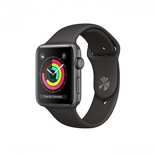 ساعت هوشمند اپل واچ سری ۳ مدل ۳۸mm Space Gray Aluminum Case