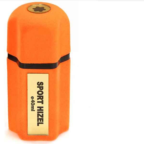 ادو پرفیوم هیزل مدل SPORT رنگ نارنجی