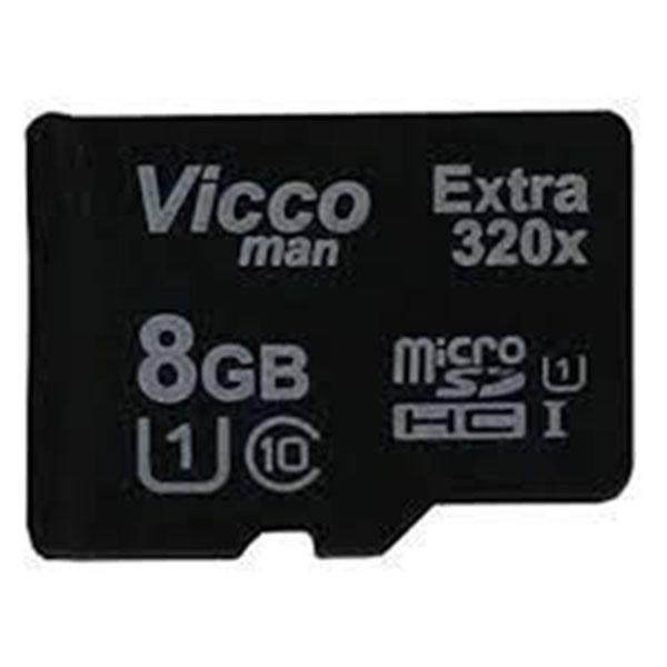 کارت حافظه microSDHC ویکومن مدل Extre 320X کلاس ۱۰ استاندارد UHS-I U1 سرعت۴۸MBps ظرفیت ۸ گیگابایت