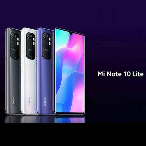 گوشی موبایل شیائومی مدل Mi Note 10 Lite دو سیم کارت ظرفیت ۱۲۸گیگابایت با ۸گیگابایت رم