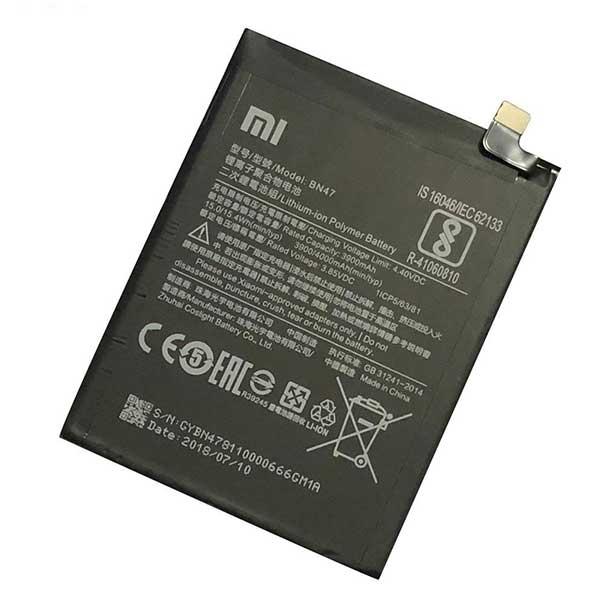 باتری موبایل مدل BN47 مناسب برای گوشی موبایل شیائومی Mi A2 Lite