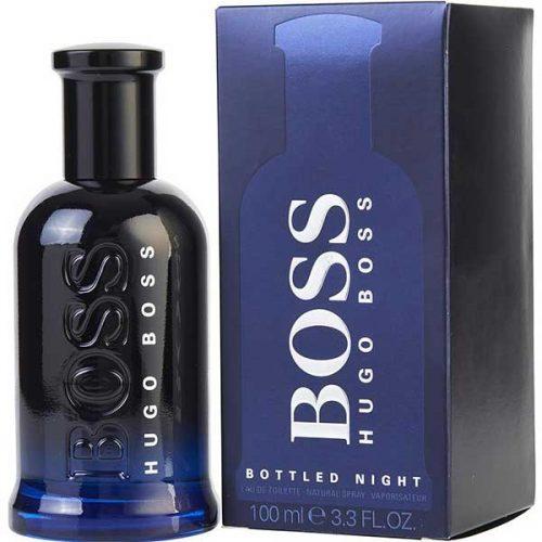 ادوتویلت مردانه هوگو باس مدل Boss Night